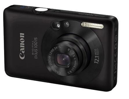 Canon IXUS 100 IS 12MP Black
