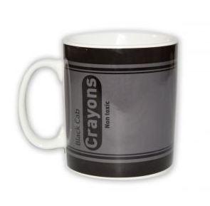 black cab crayon mug