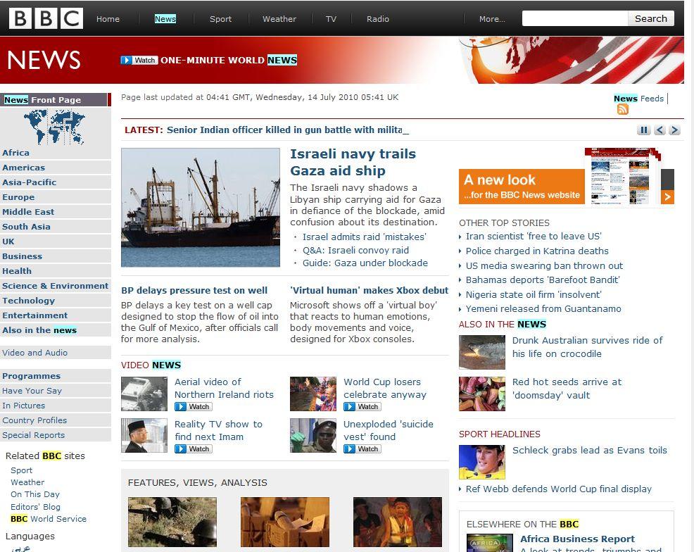 bbc news old