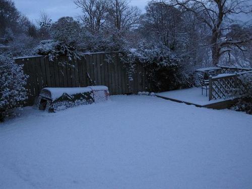 Winter garden and hen house