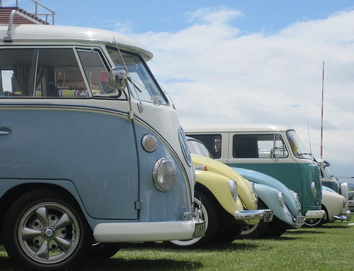 July Redcar vw