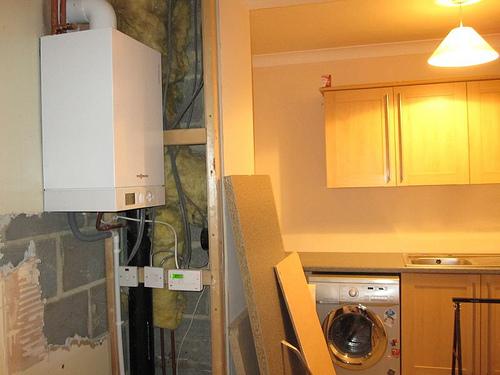 boiler after