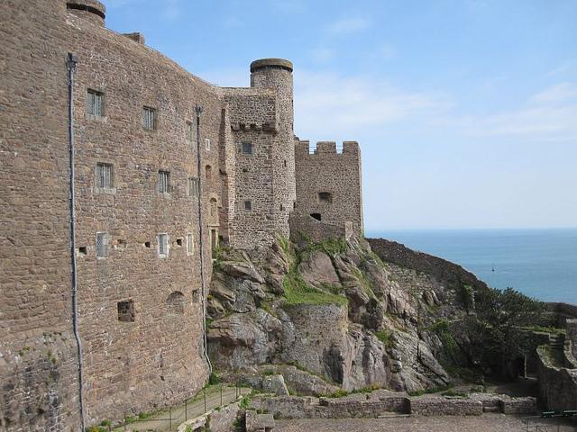 mont orgueil castle gorey