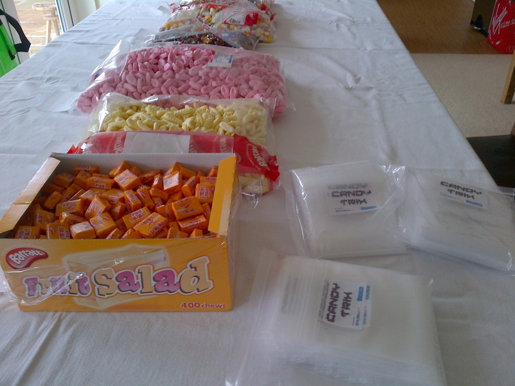 candytrix production line