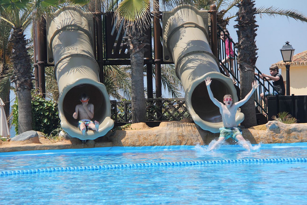 kids waterslides