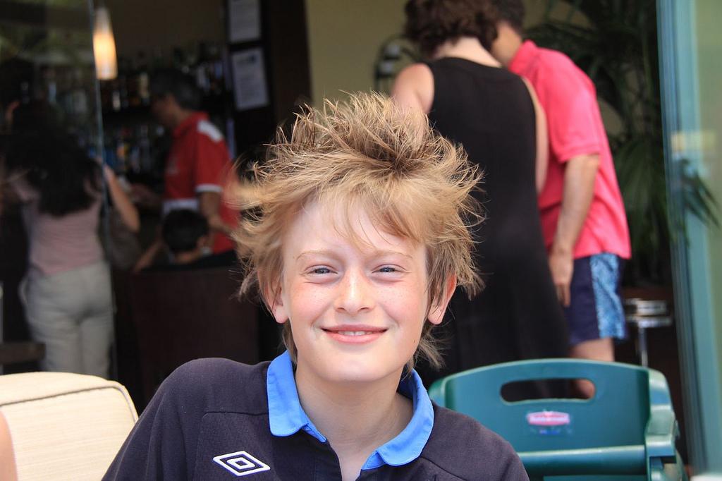 ethan crazy hair