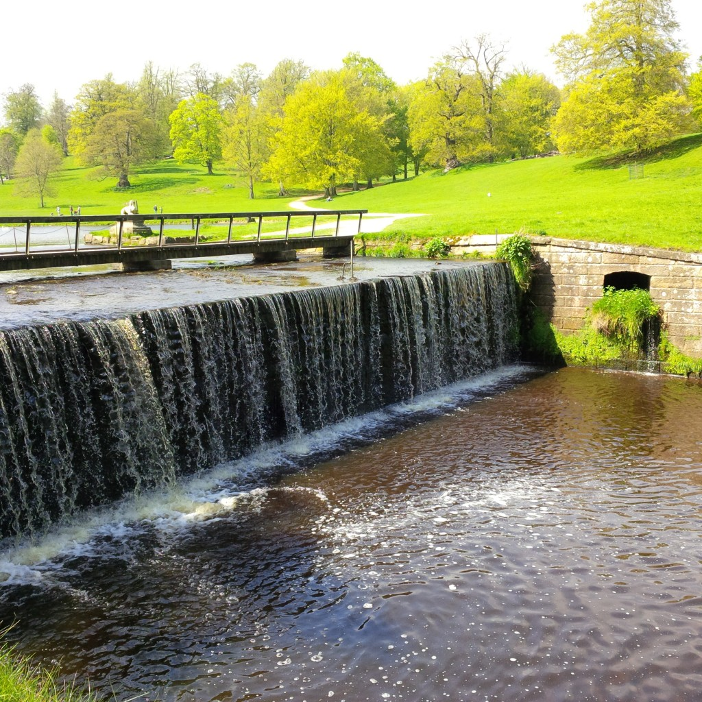 studley lake waterfall