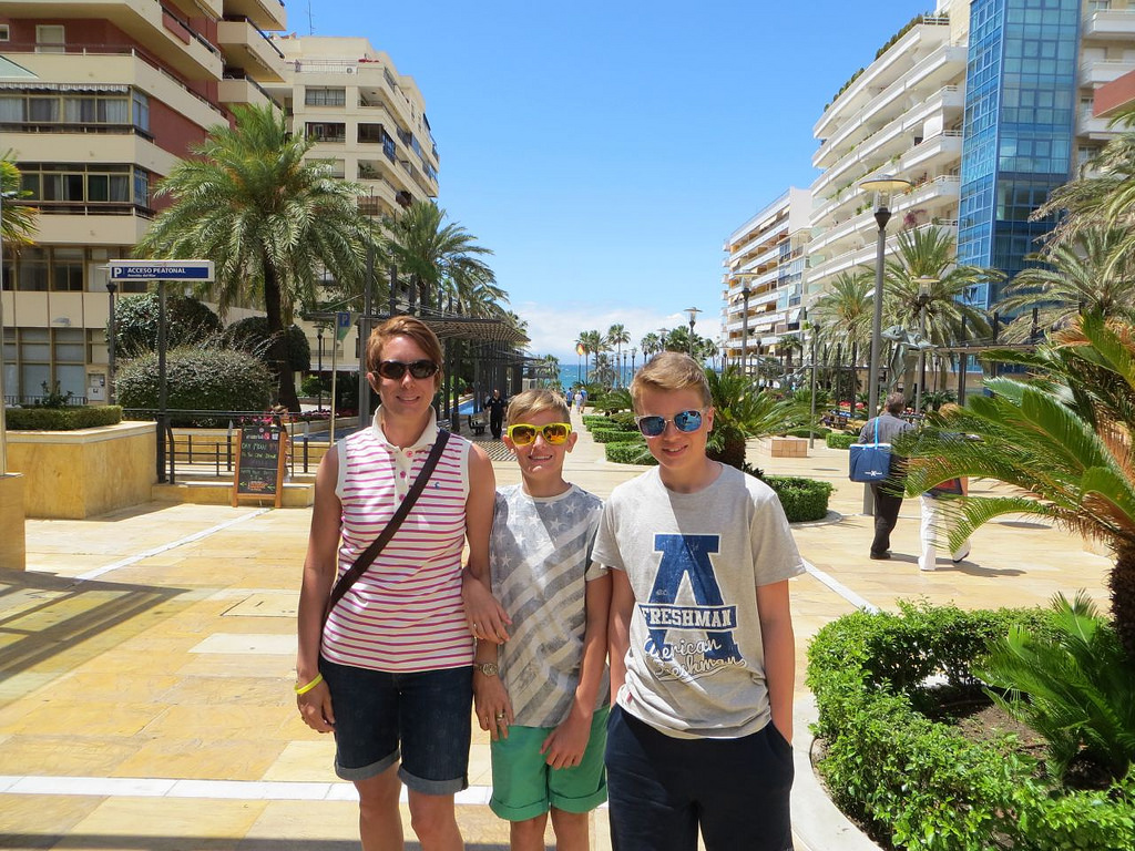 me and the kids marbella